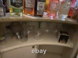 Vintage Retro 60s 70s Home Cocktail Drinks Bar Cabinet