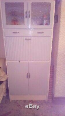 Vintage Retro Fully Restored Kitchen Larder Cupboard Cabinet Kitchenette
