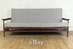 Vintage Retro Guy Rogers Manhattan Afromosia MID Century Sofa Bed Daybed