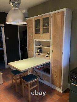 Vintage Retro Kitchen Cabinet Cupboard, Kitchenette Larder 1930s 1950s English