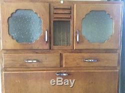 Vintage Retro Kitchen Cupboard Cabinet Larder Kitchenette 1940's 50's