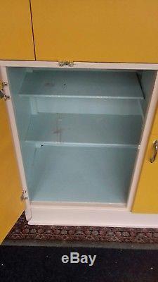 Vintage Retro Kitchenette Larder Cupboard