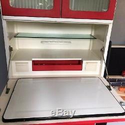 Vintage Retro Larder 1950s Kitchen Cabinet Cupboard Kitchenette