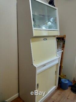 Vintage Retro Larder Fully Refurbished1950s Kitchen Cabinet Cupboard Kitchenette