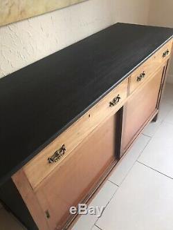 Vintage Shop Counter Drawers Haberdashery Sideboard Kitchen Island Dresser Unit