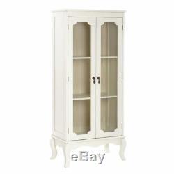 Vintage Sideboard Display Cabinet Furniture Shabby Chic Wooden Storage Shelves