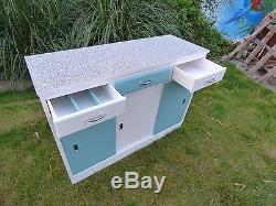 Vintage kitchen cabinet. 2-Tone Two
