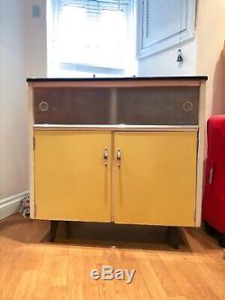 Vintage kitchenette Formica cabinet sideboard drinks bar 1950/60s
