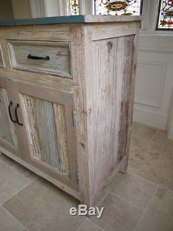 Vintage painted sideboard multi Retro style Storage Chest console