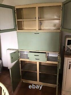 Vintage retro kitchen larder