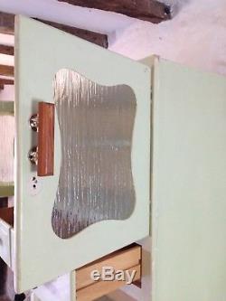 Vintage retro kitchen larder cabinet/cupboard