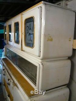 Vintage retro kitchen larder cabinet pantry cupboard antique 1950s