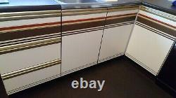 Vintage retro kitchen units