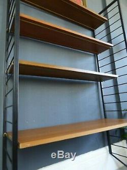 Vintage retro mid century Staples Ladderax desk shelving modular storage office