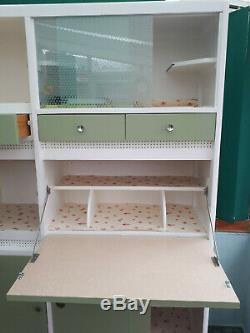 Vintage retro refurbished Hygena 50's 60's kitchen larder/cupboard/pantry