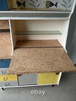 Wolfe & Hollander Vintage Free Standing Large Kitchen Dresser Cupboard Larder