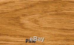 Wooden Kitchen Dining Table Desk Metal Hairpin Legs Industrial Vintage Retro
