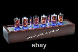 Z5660 Nixie Tubes Clock RGB Divergence Meter (as IN-18) FREE delivery 2-5 Days