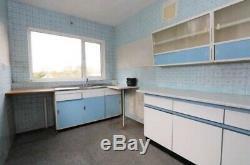 1950 1960 Retro Vintage Kitchen Dresser Cabinet Unités Larder Office Worktop