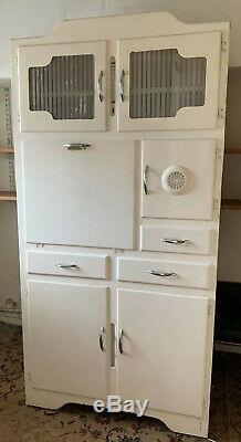 1950/60 Vintage Cuisine Commode Cabinet Larder Pantry Placard Livraison Poss