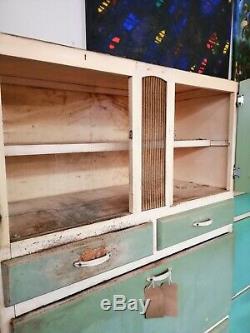 1950 Bleu Cabinet De Cuisine
