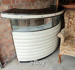 1950 Vintage Retro Cocktail Bar Display Boissons Cabinet. Cave Man Accueil Pub
