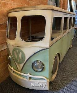 1960 Retro Vintage Inspiré Vw Camper Van Home Bar / Compteur / Bahut