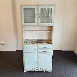 1960 Vintage Retro Cuisine Garde-manger Armoire Cabinet Shabby Chic (livraison)