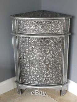 1 Porte 1 Tiroir En Relief Armoire Français Vintage Side Storage Armoire Nouveau