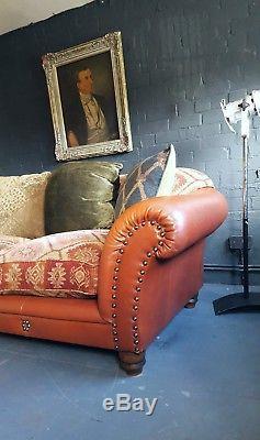 358 Chesterfield Vintage Tetrad 3 Places Club Suite En Cuir Courier Av