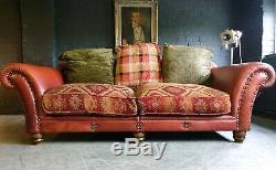 4012. Superbe Canapé 3 Places Tetrad Eastwood Grande Vintage Chesterfield À Partir De 2500 €