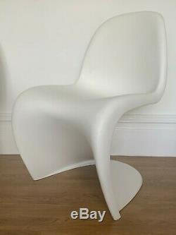 4 Chaises Véritable Panton Danoise Verner Cuisine Salle De Design Vitra