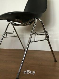 4 Véritable Charles Eames Dss Chaises Pour Vitra Cuisine Salle À Manger Design Rétro