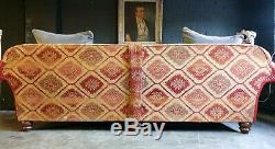 5008. Superbe Canapé 3 Places Eastwood Grande De Tetrad Vintage Chesterfield À Partir De £ 2500