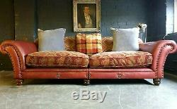5009. Superbe Canapé 3 Places Eastwood Grande De Tetrad Vintage Chesterfield À Partir De 2500 €