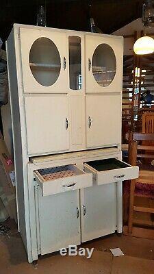 60 Vintage Années 50 Rétro Cuisine Meuble De Rangement Cabinet