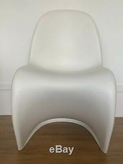 6 Chaises Véritable Panton Danoise Verner Cuisine Salle De Design Vitra