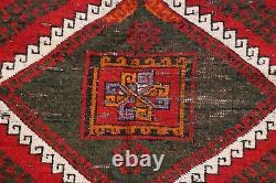 Antique Géométrique Caucasien Kazak Russe Tapis Oriental Tapis Tribal 5'x8