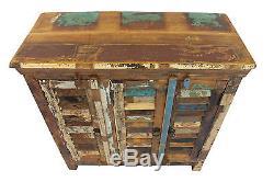 Armoire De Buffet Récupérée Dans Le Meuble De Rangement En Bois Vintage Livraison Gratuite