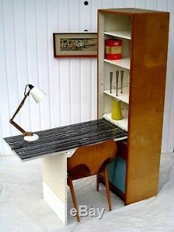 Armoire De Bureau Kandya Buffet Superbe Lucienne Day Formica Retro Guérit