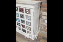 Armoire En Bois 20 Tiroirs Vintage Retro Storage Home Living Unit Coffre De Meubles
