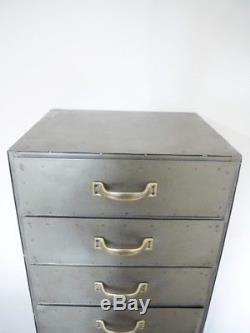Armoire Vintage Urbaine Urbaine Vintage Avec Tiroir, Galvanisé Industriel