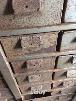 Atelier De Rangement Rétro Vintage En Métal Industriel Draw Garage Étagères De Rayonnage Pour Atelier