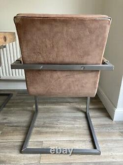 Barker & Stonehouse Brutus Vintage Style Chaise En Cuir
