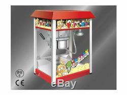 Brand New Machine À Popcorn Popcorn Maker 220 V 8 Oz Avec Support Cycle Panier