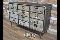 Buffet Vintage Industriel Style Retro Console De Rangement Rétro