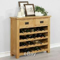 Cabinet Vin En Bois Massif Wine Rack Armoire Porte D'affichage De Stockage Organisateur
