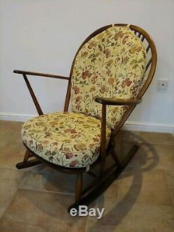 Chaise À Bascule Ercol Grand-père