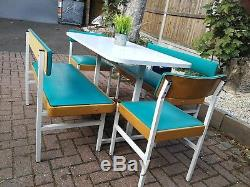 Chaises Et Bancs De Table De Salle À Manger Vintage Retro MID Century (formica)