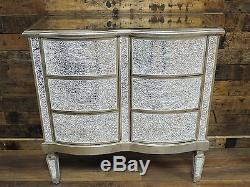 Crépis En Verre Miroir Coffre À Rangement Armoire Table Console Table Console